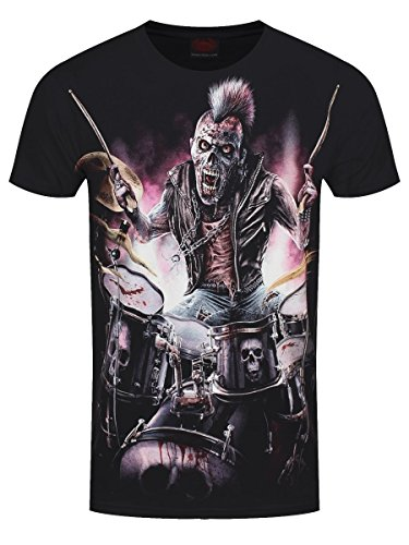 Spiral Direct Camiseta de Manga Corta Zombie con Cresta Punk...