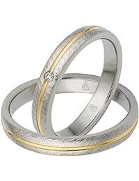 Suchergebnis auf Amazon für bandring gold 585 Bicolor Schmuck