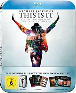 Michael Jackson's This Is It (Ultimate Fan Collector`s Edition im Steelbook) [Blu-ray]