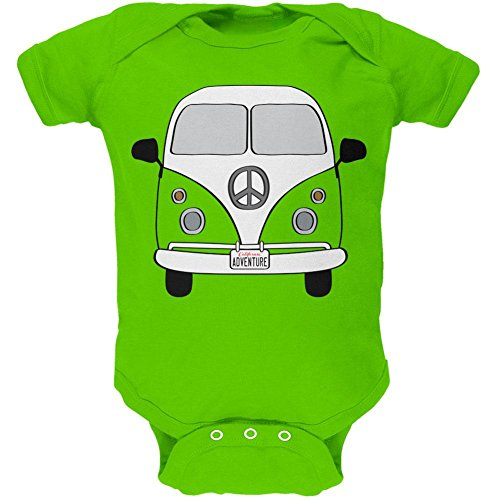 Halloween Travel Bus Kostüm Camper Abenteuer weiches Baby Einteiler Apple 9-12 M (Apple-halloween-kostüme)