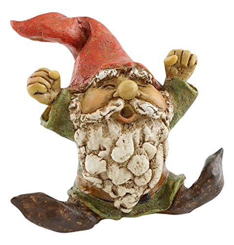 Top Collection Miniatur-Fairy Garden und Terrarium Garden Gnome Gähnendes Statue