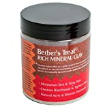 Rich-Mineralerde -Maske für fettige Haut, verstopfte Poren, Akne und Ekzeme Behandlung - Natürliche Gesichtsmaske Entfernt Mitesser und Verunstaltungen - Spa-Behandlungen für flockige und trockene Haut - 250ml Powder