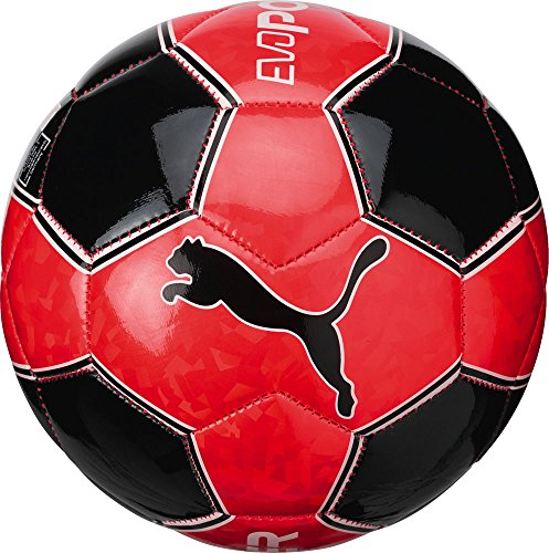 Puma Pallone da calcio Evopower Graphic 3Mini, Red Blast/Black/White, 0, 08256521