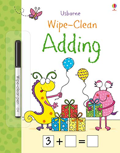 Wipe-Clean Adding (Wipe-Clean Books) por Jessica Greenwell