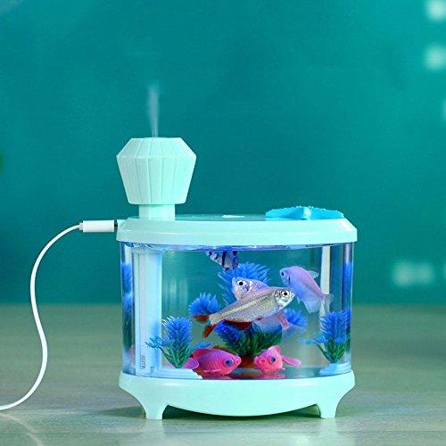 Mini pesce serbatoio umidificatore USB desktop ornamenti decorativi piccolo soggiorno camera da letto Office MINI pesce