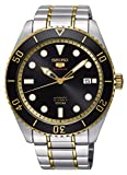 Seiko Herren Analog Automatik Uhr mit Edelstahl Armband SRPB94K1