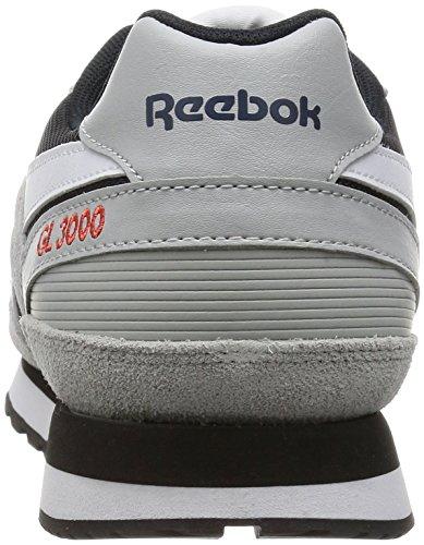 Blu Inchiostro Rosso Nero Adulte Reebok De Mixte cranio Chaussures Gl Fitness Grigio 3000 Tripudio Bianco Gris gRgqT7U