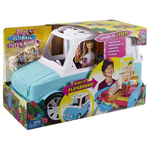 Barbie DLY33 - Die Große Hundesuche Mobil Fahrzeug, Puppen ...