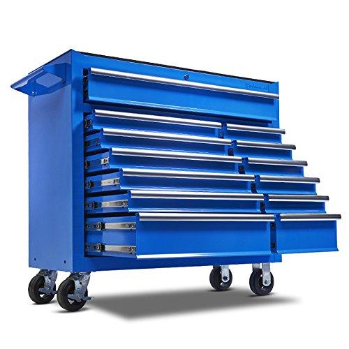 Werkzeugwagen mit 13 Schubladen - Blau
