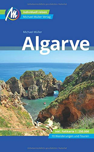 Algarve mit Karte