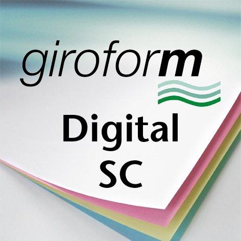 PAPYRUS Durchschreibepapier Giroform Digital SC VE = 1
