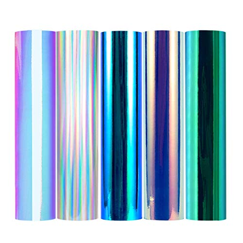 Holografische chrom Craft Opal Vinyl für Silhouette Cameo, Craft, Sign Plottern 1x 150 TM-KZT-H-Mystic - Arts Crafts Silhouette