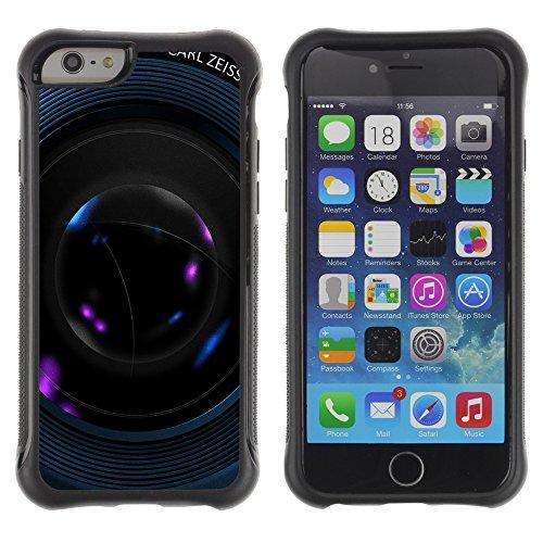 Graphic4You Camera Lens Photography Design Shockproof Anti-Rutsch Weichen Hülle Case Tasche Schutzhülle für Apple iPhone 6 / 6S Design #17