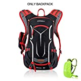 INFIKNIGHT INF ANMEILU 18L Waterproof Bicycle Backpack, Cycling Bike Sport Bag, Outdoor Camping Hiking Climbing Bag with Rain Cover, No Water Bag