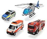 Dickie Toys 203715009 - Fahrzeug Set