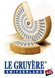 Gouda Cheese Shop Gruyere Cheese Swiss | +/- 500 Grams / 1.1 lbs