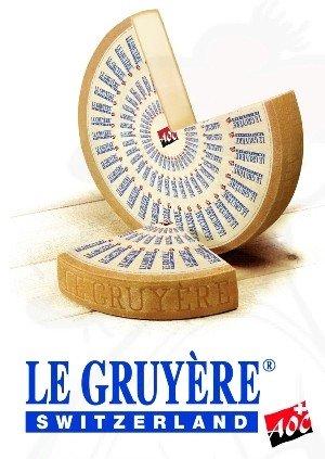 Preisvergleich Produktbild Gruyere Käse - Schweizer / Premium Qualität / 500 Gramm