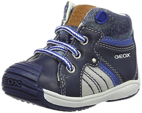 Geox Bebê Menino B Toledo Menino Sapatos Walker Azuis (navyc4002)