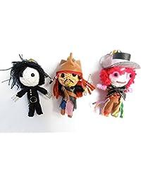 String Doll World Voodoo-Puppen/ Schlüsselanhänger Johnny Depp
