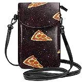 shanghaiyongyunshangwu Telefon Brieftasche Umhängetasche Pizza Galaxy Leder Vertikale Wilde...