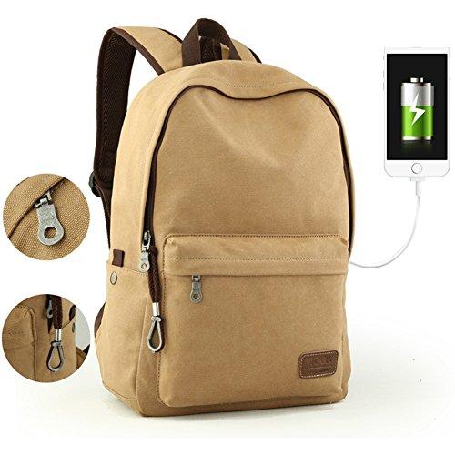 Trend Der Japan-korea-rucksack/Mens Casual Canvas Umhängetasche/Laptop-tasche/Reisetasche-C G