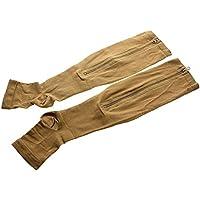G1 Consoladores compresión Dolor con Cremallera Color de Piel Unisex Alivio Calcetines Sox Soporte para Las piernas pies Grandes - ábreme