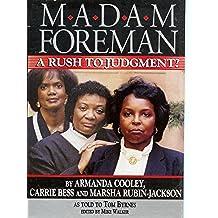 Madam Foreman (English Edition)