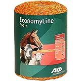 Hilo electrificador pastor Economy Line 500 m x 16 mm vacas caballos ovejas