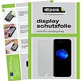 dipos I 6X Schutzfolie matt passend für Apple iPhone 7 Folie Bildschirmschutzfolie