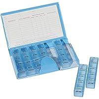 Dispenserbox Buchform mit 7 Tages Tablettendosen für die Organisation der Medikamenteneinnahme für eine ganze... preisvergleich bei billige-tabletten.eu
