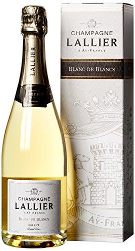 Champagne Lallier Blanc de Grand Cru in Geschenkkartonage Chardonnay Trocken (1 x 0.75 l)