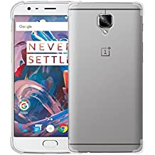 Tarkan Protective Soft Transparent Back Case Cover For OnePlus Three / One Plus 3 / OnePlus 3T