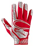 Best Football Gloves For Receivers - Cutters S251 Rev 2.0 Receiver, Safety, Cornerback Football Review