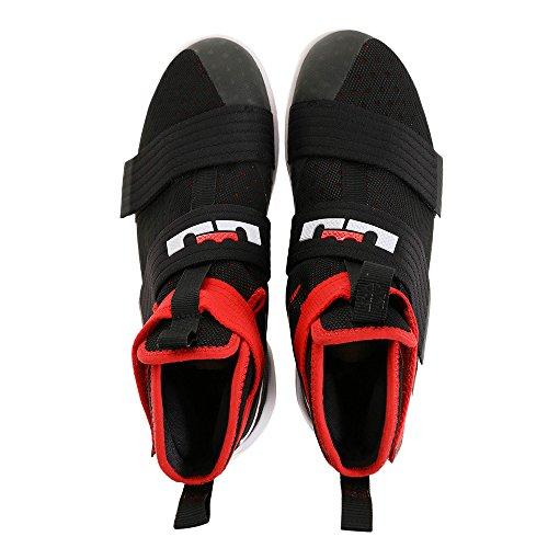 Nike Scarpe da Basket Lebron Soldier 10SFG Black/White-iuniversity Red