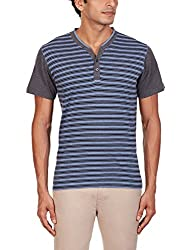 Kenneth Cole Reaction Mens T-Shirt (4100418050034_KCRFW15TS25_Medium_Blue Melange)