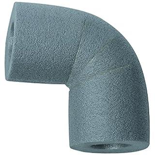 CLIMAPOR Bogen 90° zu Rohrisolierungen PE 28/13, grau, 30 Stück