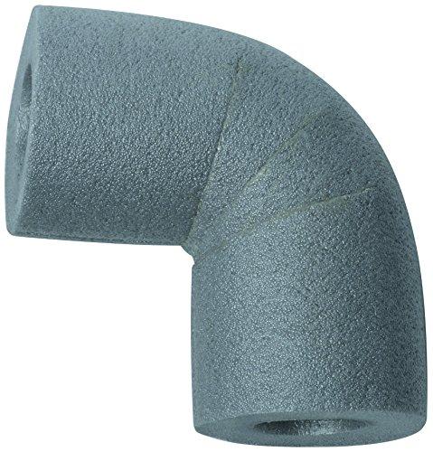 Climapor Coude 90° pour gaine d'isolation PE 18/13, gris - PRIX SPECIAL LOT de 5 pièces