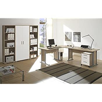 Arbeitszimmer Möbel komplett Set Büro Büromöbel Office
