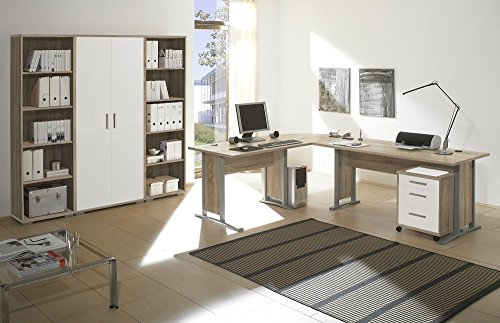 🛋 Arbeitszimmer Möbel komplett Set Büro Büromöbel Office Line in ...