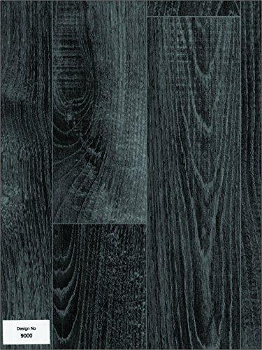 Lino flooring for Black wood effect lino