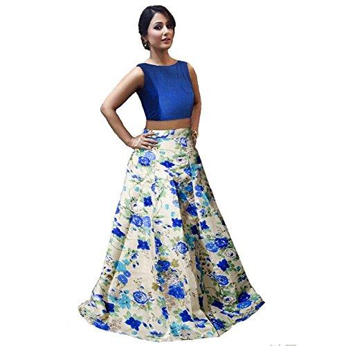 Nena Fashion Women's Velvet Semi-Stitched Lehenga Choli (Free_Size_Size)