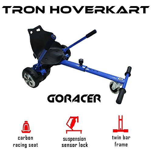 TRON The Official Midnight Blue Racer Hoverkart
