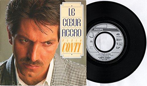 Fabio Conti - Le coeur accro - Noï (Vinyle, 45 tours 7
