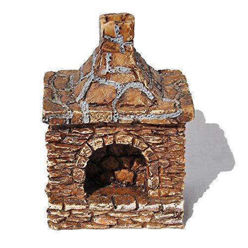 Umrahmt Harz (Wholesale Fairy Gardens Miniatur-Kamin für den Außenbereich)