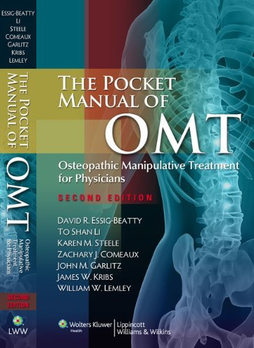 The Pocket Manual of OMT: Osteopathic Manipulative Treatment for Physicians by David R. Essig-Beatty (1-Jun-2010) Spiral-bound
