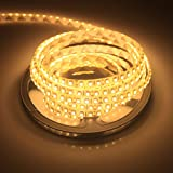 ALED LIGHT® Striscia LED - 5 Metri - SMD3528 BIANCO FREDDO/BIANCO CALDO - 600 LED (bianco caldo)