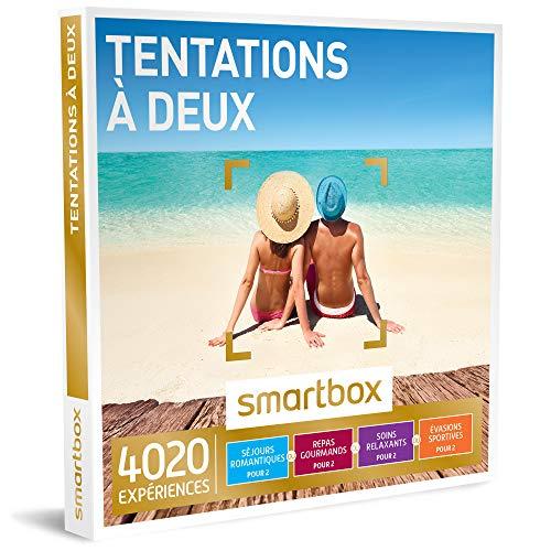 SMARTBOX - Coffret Cadeau - TENTATIONS À DEUX - 2915 Expériences : Séjour, Séance...