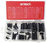 Am-Tech 120 piezas Surtido rollo de insignias, S6270