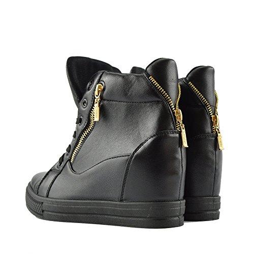 Kick Footwear High Top, Stivali donna black matt