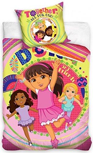 Nickelodeon Dora Freunde Bettdecke 140 x 200 cm